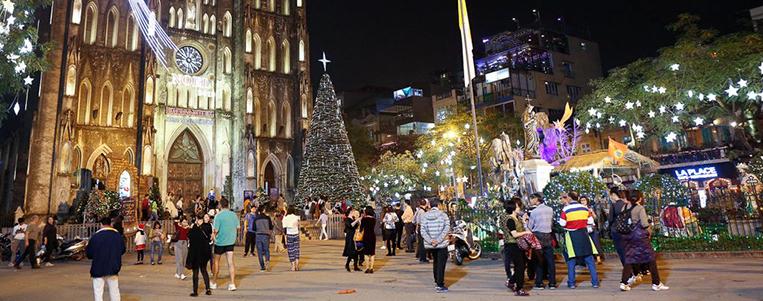 Voyage lors des fêtes (décembre, janvier, février) au Vietnam
