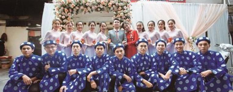 Les fiançailles vietnamiennes