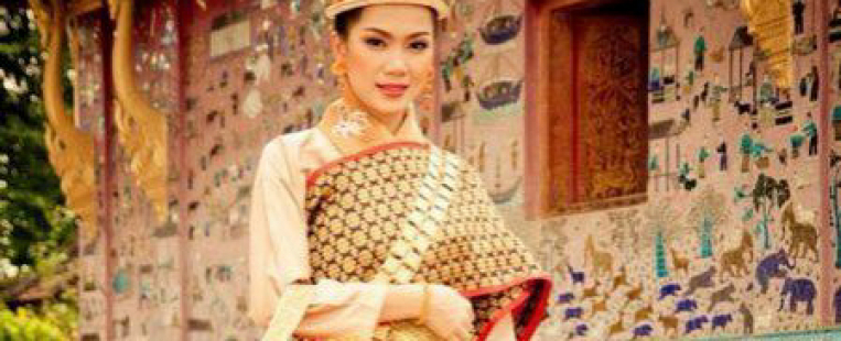 Sinh - costume traditionnel des femmes laotiennes