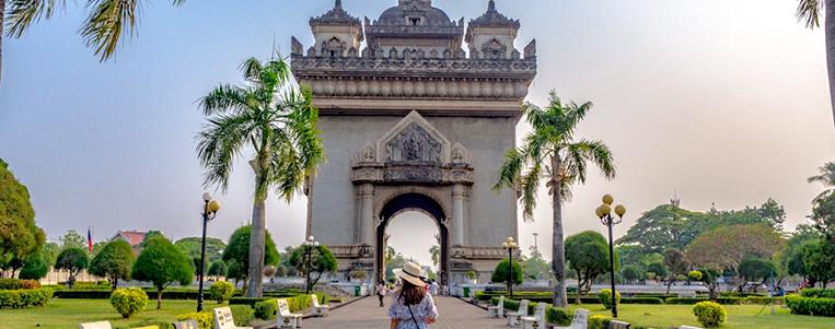 La capitale de Vientiane