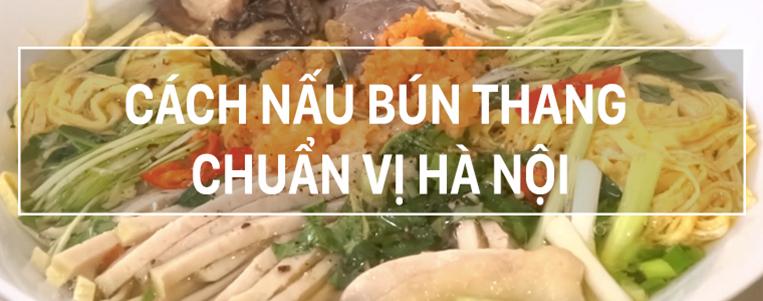 Le Bun thang, une spécialité de Hanoi
