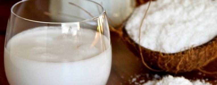 Le lait de Coco et habitude de l'utiliser chez les Sudistes