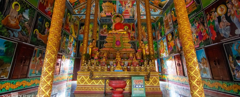 """La plus ancienne pagode Khmer """"Âng"""" au Vietnam, la connaissez-vous ?"""
