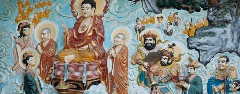 """Une ancienne pagode """"On Lang"""" de 300 ans dans le quartier chinois à HoChiMinh-ville."""