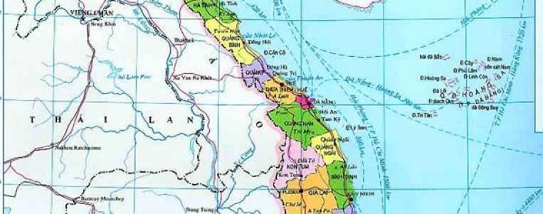 La géographie du Vietnam