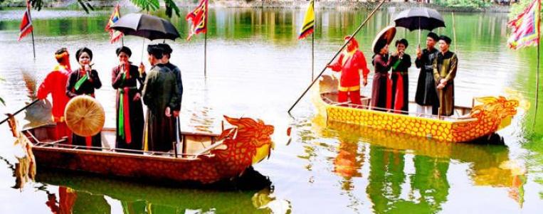 Fête de Lim à Bac Ninh : Rendez-vous printanier au pays de Quan Ho