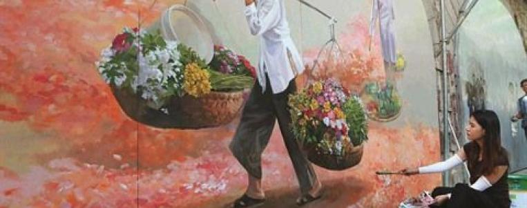 Le street art appose sa touche dans la capital