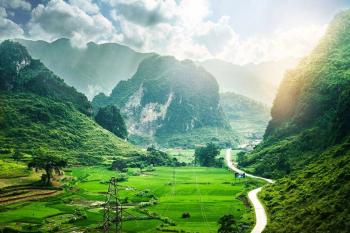 Randonnée au pays de l'ethnie Tay