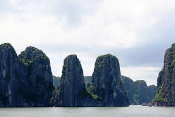 La baie d'Halong insolite