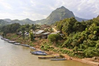 Promenade croisière Mékong Laos