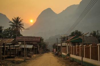 Randonnée hors de Luangprabang